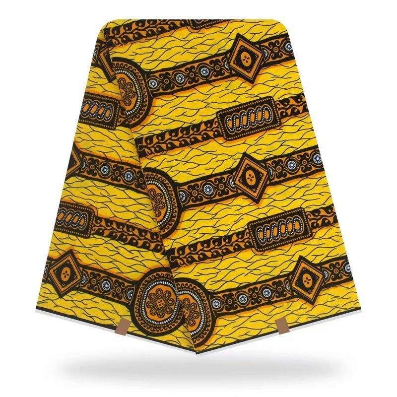 African Fabric Wax Print Real Ankara Wax 6yard/lot 2020 New Cotton Fashion Wax High Quality African Fabric Wax