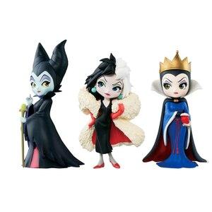 3 шт./компл. Disney Maleficent кукла принцессы Maleficent QUNNE ПВХ фигурка игрушка подарок для детей