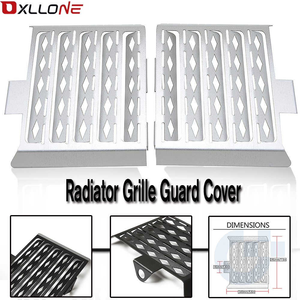 Motorcycle Accessories Radiator Grille Guard Cover motorbike for <font><b>BMW</b></font> <font><b>G</b></font> <font><b>650</b></font> GS/G650GS Sertao all years radiator guard cove grill image