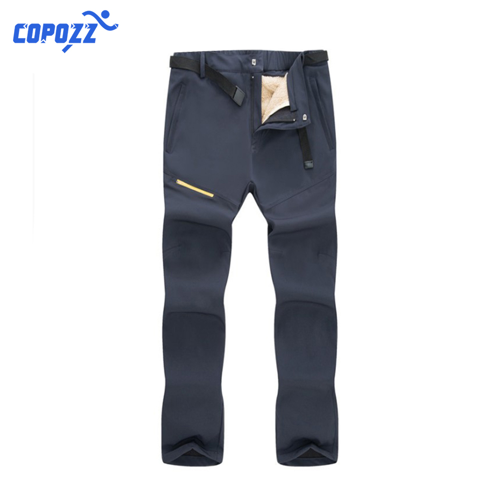 Copozz Winter Outdoor Hiking Pants Quick-Dry Detachable Waterproof Trousers For Hiking&Camping Pants Fishing Climbing Oversized
