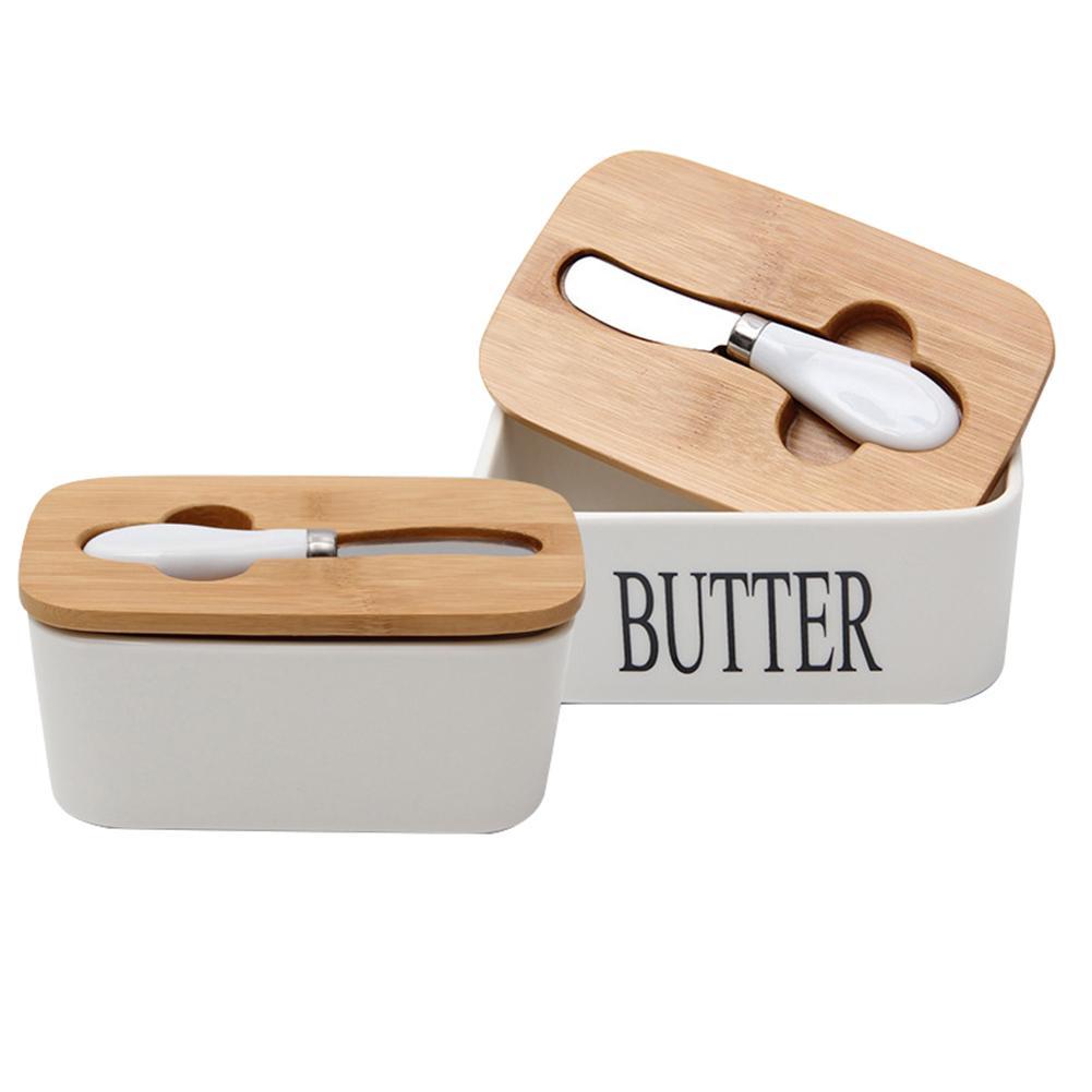 Boîte en céramique scellée au beurre nordique de 6