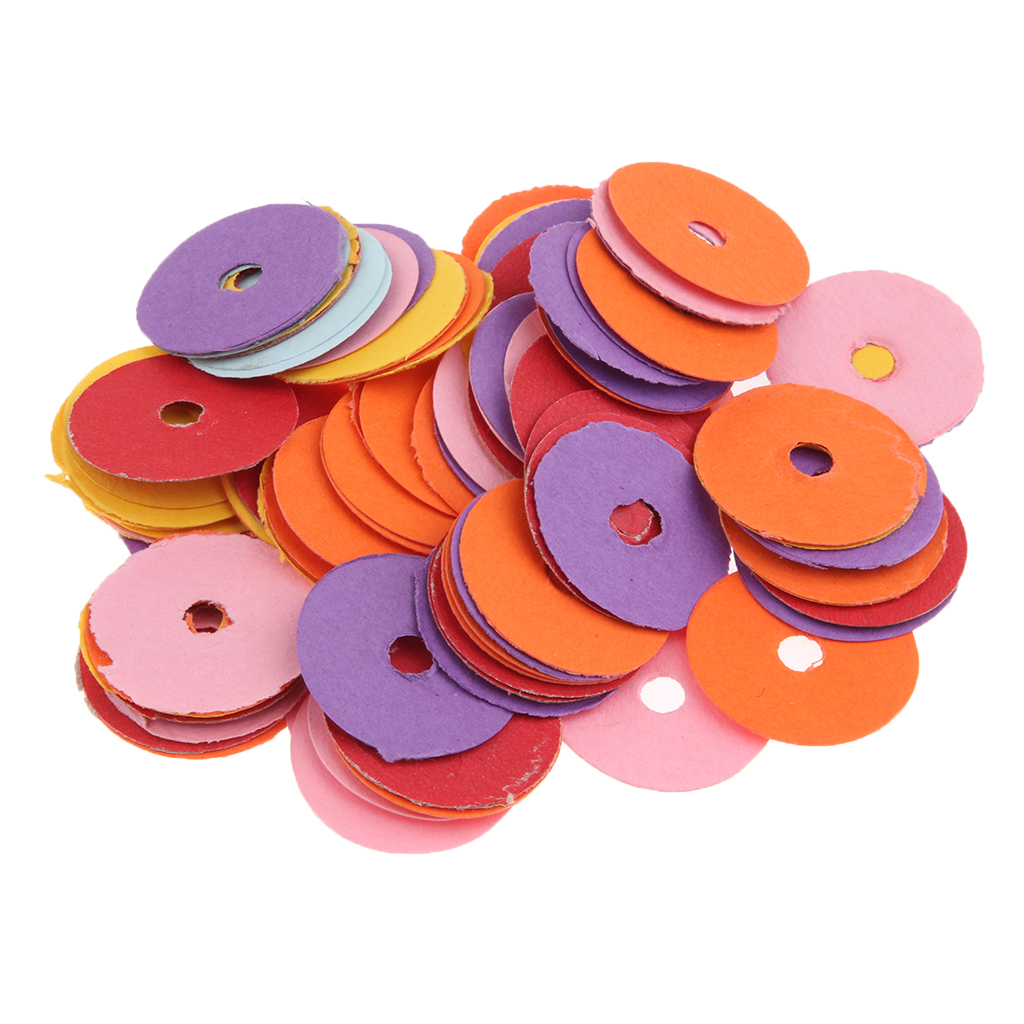 Pack/90pcs Felt Balance Punchings Shims Hitch Pin Punchings For Upright/Verhical Piano Parts