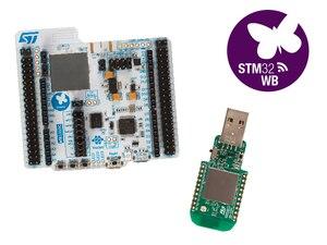 1 шт. /партия P-NUCLEO-WB55 Наборы для разработки ARM BLE Nucleo посылка, включая usb-ключ и Nucleo-68 с STM32WB55 MCUs 100% Новинка