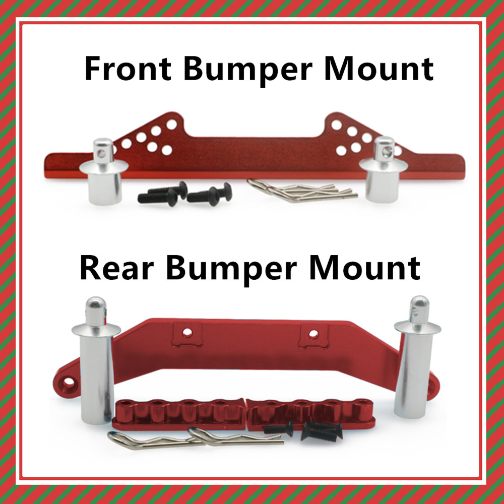 Alloy front &rear body mount body posts body clips for rc hobby model car 1/10 Traxxas Slash 2WD short course upgraded parts