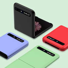 Candy Color Ultra Thin Case For Samsung Galaxy Z Flip Full Protection Matte Hard PC Phone Cover