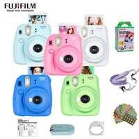 Original Fujifilm Fuji Instax Mini 9 Film Photo instantané appareil Photo + 20 feuilles Fujifilm Instax Mini 8/9 Films