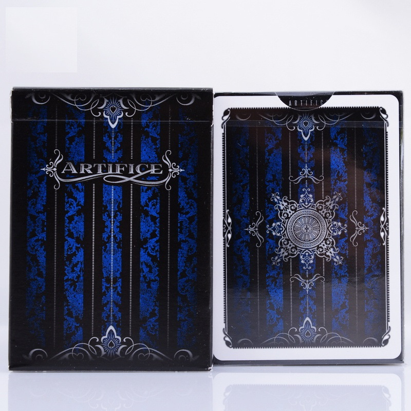 1pcs Blue Artifice V2 Ellusionist Deck Magic Cards Playing Card Poker Close Up Stage Magic Tricks For Professional Magician