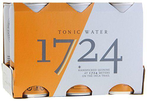 1724 Tonic Water Set Da 6 (6 X 200 Ml)
