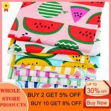 8 шт/лот 40 см x 50 серия watermelonseries саржевая хлопчатобумажная