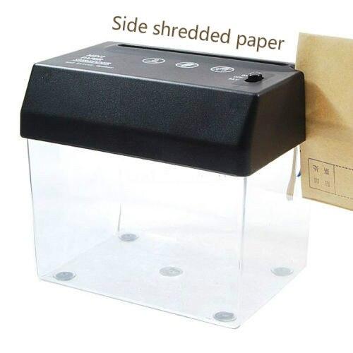 de papel-corte mini pequeno usb shredder &