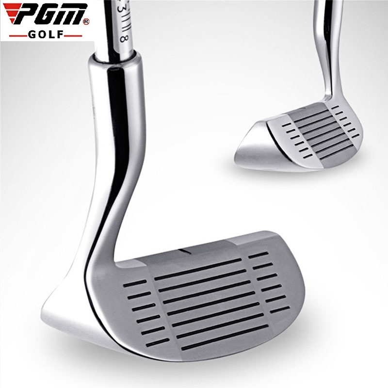 Pgm Golf Double-side Chipper Club Mallet Rod Grinding Push Rod Stainless Steel Head Chipping Golf Putter For Outdoor Sports