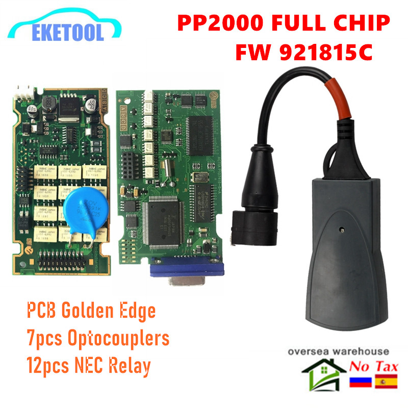 Full Chip Lexia3 PP2000 Diagbox V7 83 PSA XS Evolution Professional For Citroen Peugeot LEXIA-3 FW 921815C Lexia 3