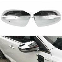 New Chrome Car Rearview Mirror Cover Trim For KIA K5 Optima 2011 2012 2013 2014 2015