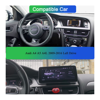 Android 10 Original 10.25 Inch Car Multimedia Player GPS Navigationvideo Stereo BT SWC Radio for 2009-2016 Audi A4 A4L A5 B8 image