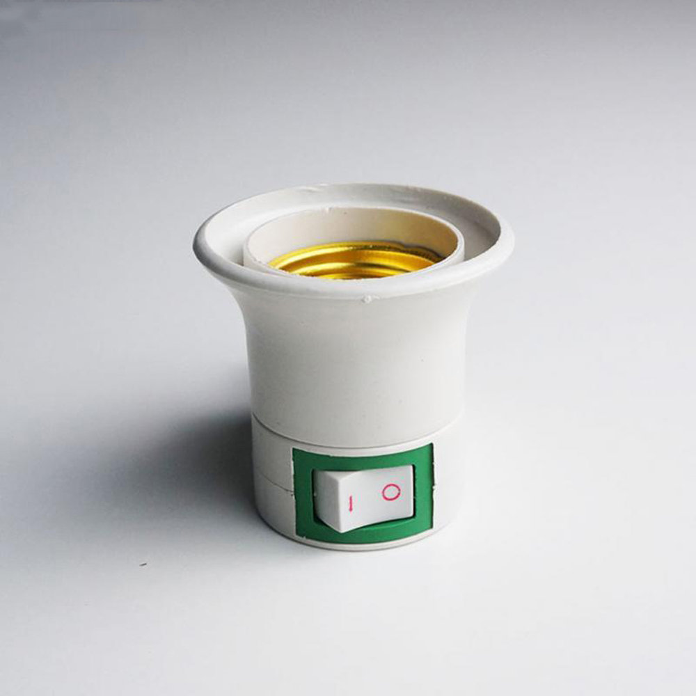 E27 Screw Socket LED Bulb Lamp Cap Socket Lamp Base, Ceiling Mounted, Exposed Mounting, Dark Mounting And Energy Saving