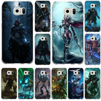 Soft TPU Mobile Phone Case for Samsung Galaxy Note 2 3 4 5 8 S2 S3 S4 S5 Mini S6 S7 S8 S9 Edge Plus Games Lich King Stormrage image