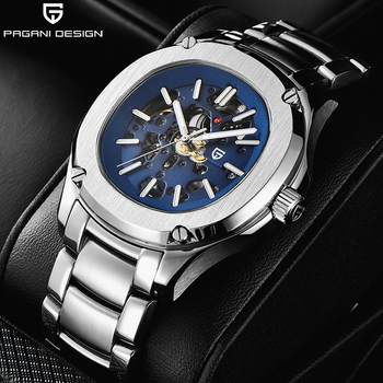 2020 New PAGANI DESIGN Mechanical Watch Men Waterproof Automatic Men Wristwatch Hollow Casual Watch Top Luxury Brand Sport Clock