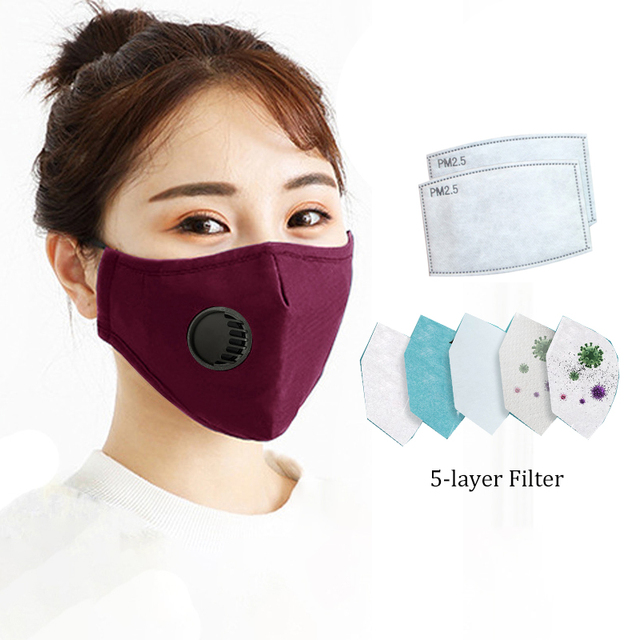 Motorcycle Face Mask PM2.5 Face Masks Anti Dust Windproof Anti Bacteria Flu Mask Winter Face Mask
