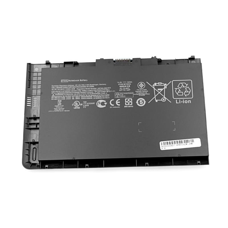 Image 2 - 14.8v laptop battery for HP EliteBook Folio 9470/9470m Ultrabook  Series HSTNN DB3Z  BT04XL BA06  IB3Z I10C BT04Laptop Batteries   -