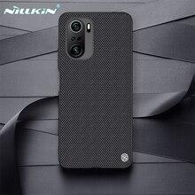 Dành Cho Xiaomi Poco F3 X3 Pro X3 NFC Ốp Lưng Nillkin Họa Tiết Kinh Doanh Nylon Chất Liệu Sợi Dệt Trong Cho Poco x3 NFC Ốp Lưng