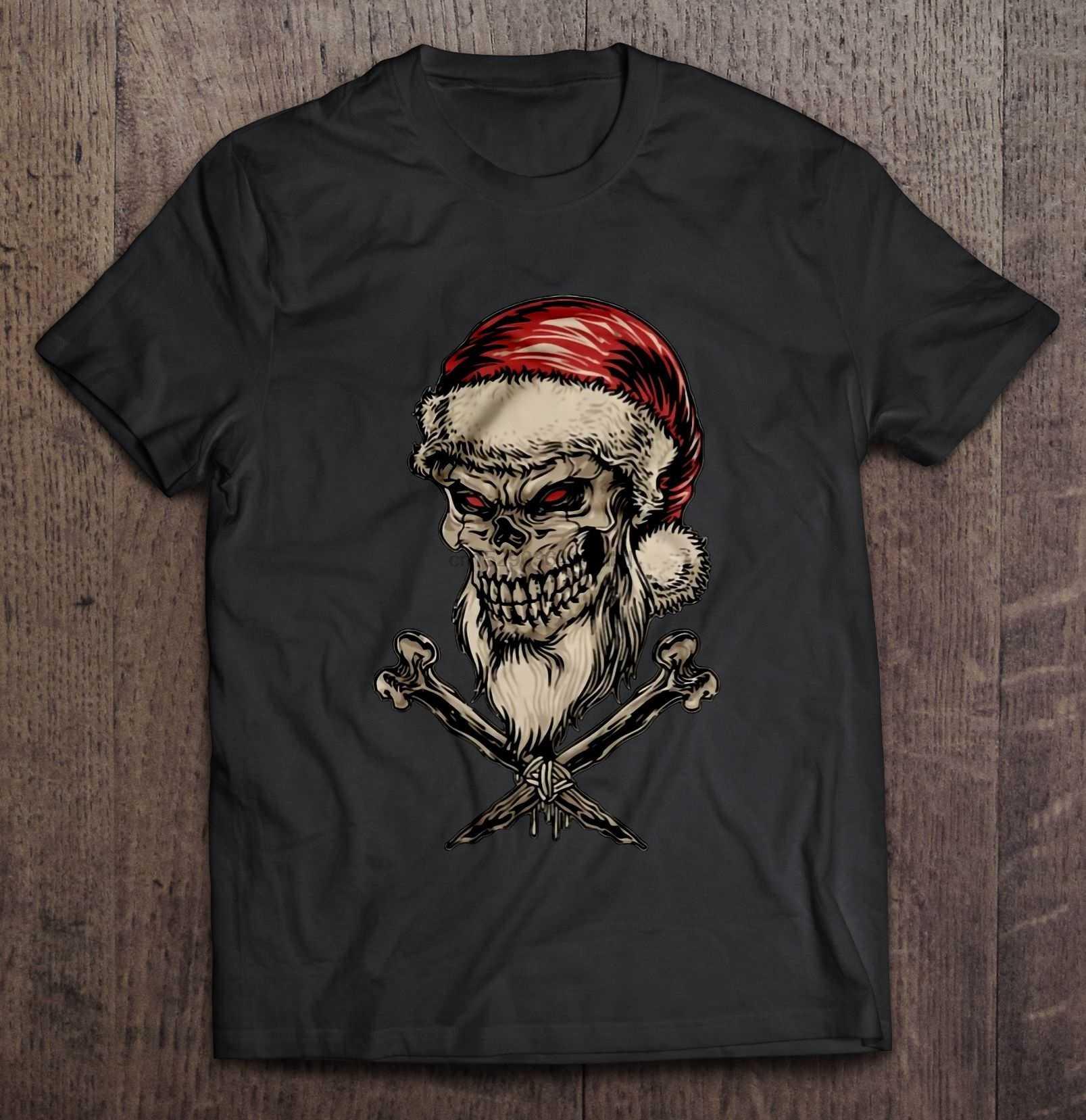 Мужская футболка с изображением Санта-Клауса, Рождественский свитер, женская футболка