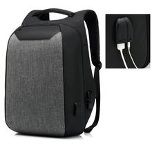 Открытый ноутбук сумка двойной плечевой ремень Бизнес Стиль Водонепроницаемый usb зарядка порт чехол для путешествий S порт s