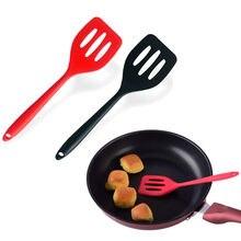 Ovo peixe frigideira colher utensílios de cozinha pá frita silicone turners espátula cozinha ferramentas gadgets cozinhar acessórios