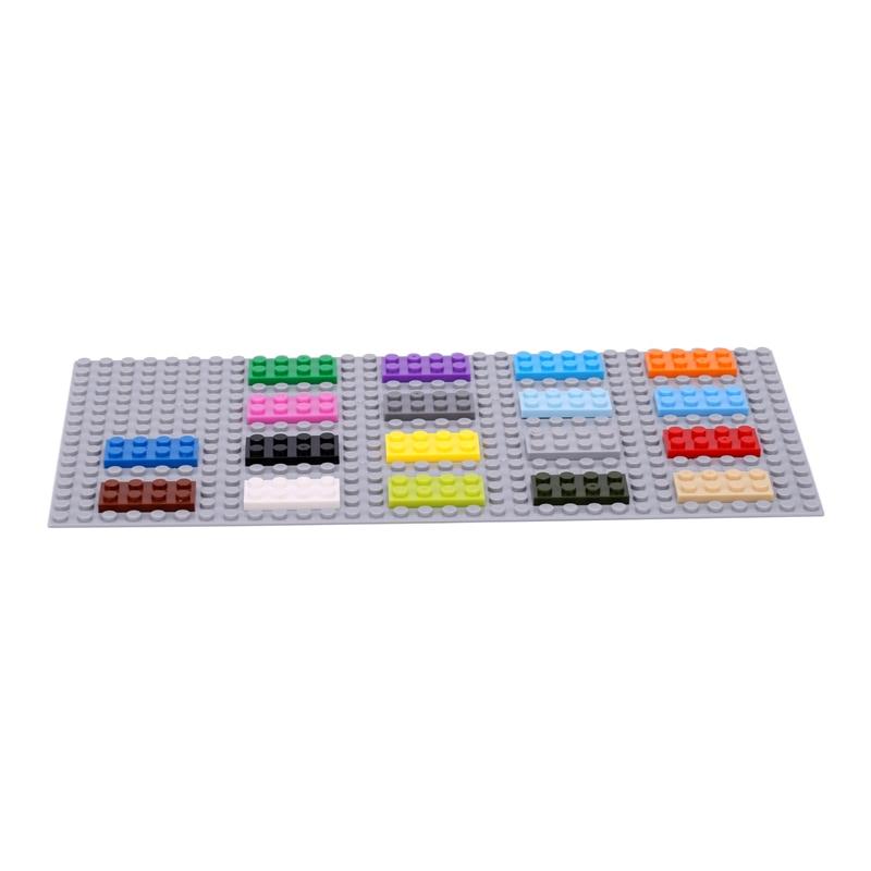New LEGO Lot of 4 Magenta 1x2 Building Block Brick Girls Friends Creator