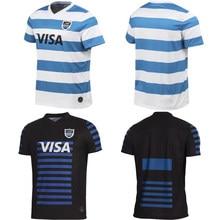2021 argentina rugby casa longe camisa masculina esporte tamanho S-5XL