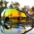 ยี่ห้อใหม่กีฬากลางแจ้งขี่จักรยานแว่นตา Mountain Road จักรยานขี่จักรยานแว่นตา Peter UV400 แว่นตากันแดด 3 เล...