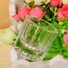 Дизайн ногтей стеклянная чашка стеклянная посуда Маникюрный Инструмент для смешивания акриловых жидких салонов дома CJ666