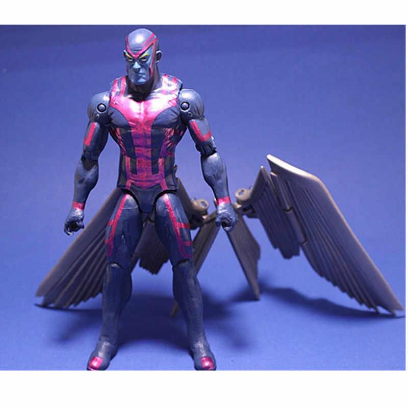 Brinquedos de ação colecionáveis x homem apocalipse filme figura de ação magneto x-men en sabah nur collectible móvel presente de aniversário 16cm