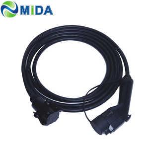 Image 3 - 5メートル32A J1772プラグソケット充電コネクタev充電器タイプ1ケーブル