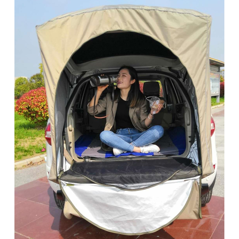 Car Rear Tent Outdoor Roof  Equipment Camping Canopy Tail Ledger Picnic Awning For Peugeot 3008 Only For SUV