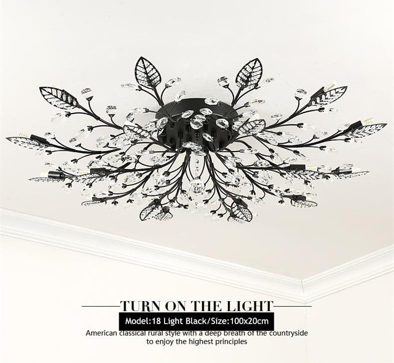 Hed2ffba97029470c9aafdf1d87d2f722r TRAZOS New item fancy ceiling light LED Crystal ceiling lamp modern lamps for living room lights,AC110-240V DIY Crystal lighting