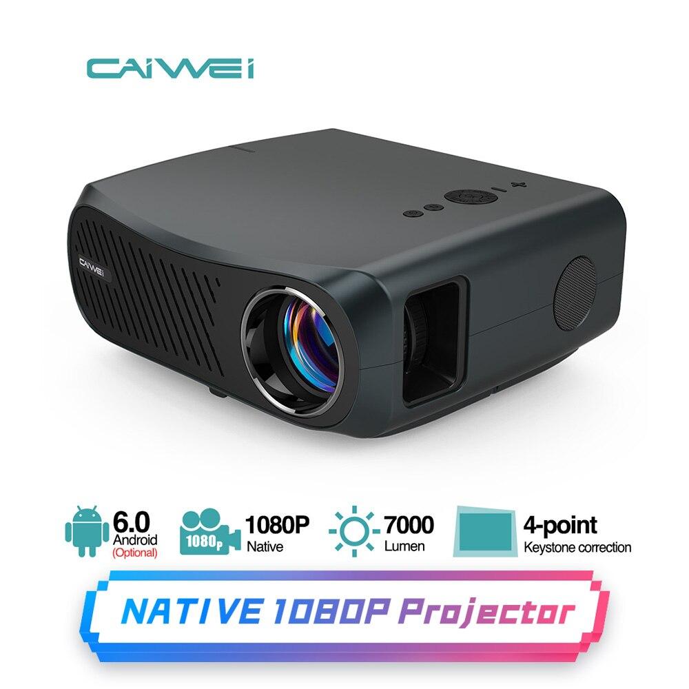 1080P Bluetooth Wifi проектор Full HD 1920x1080 Native поддержка 4K беспроводной домашний кинотеатр на открытом воздухе кино игровой телевизор 7000 люмен