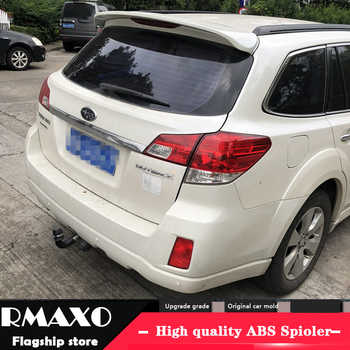 For SUBARU XV Spoiler 2001-2015 XV SPOILER High Quality  ABS Material Car Rear Wing Primer Color Rear Spoiler