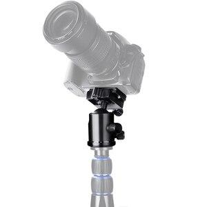 Image 5 - Manbily KF 0 מצלמה חצובה כדור ראש אלומיניום Ballhead פנורמי ראש הזזה רכבת ראש W 2 Built in רמות הרוח DSLR KF0