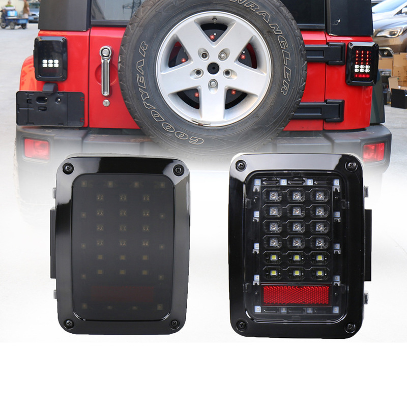 Levida With Reverse Brake Turn Light Plug And Play Tail Light