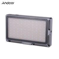 Andoer LED Video Light Panel Dimmable 2500K 8500K Mini Pocket Camera Fill Light Built in Battery for YouTube DSLR Camera