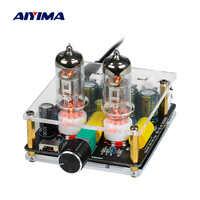 AIYIMA Mini tubo preamplificador 6J3 Pre amplificadores tarjeta de Audio casa teatro preamplificador DIY amplificador de potencia con ganancia ajustable