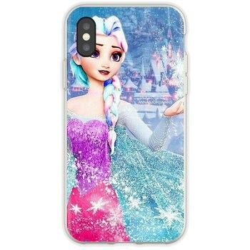 Para Samsung Galaxy A10 A30 A40 A50 A60 A70 S6 activo Nota 10 Plus M30 suave chica sexy Elsa punk Anna tatuaje princesa