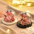 Различный диаметр основания = 10 см Круглый купол стеклянный ваза украшение дома креативный стеклянный купол друг подарок свадебное украшен...