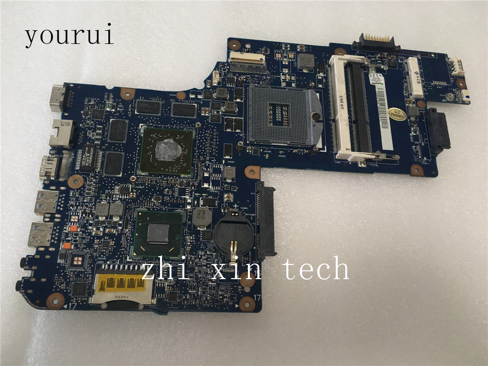 Yourui  H000038410 Mainboard For Toshiba C850 L850  C855 Laptop Motherboard HM76 Tested Well