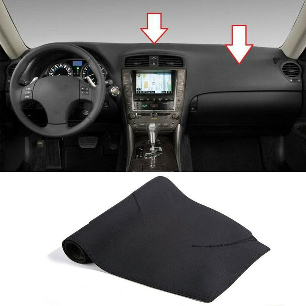 1PCS For Leather Car Dashmat Dash Mat Stciker For Lexus IS250 IS350 2006 2007 2008 2009 2010 2011 Dashboard Cover Pad