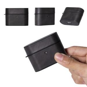 Para AirPods Pro funda ultrafina a prueba de golpes caja de carga cubierta de piel para Air Pods 3 cuero suave funda de auricular simple