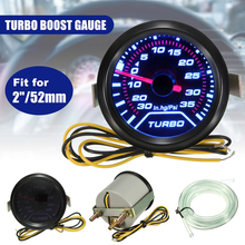 Universal Car Digital Turbo Boost Gauge Auto Ink Lens Pointer Type Blue Turbocharger Table Psi Adjustable Modification Mete universal adjustable racing turbocharger boost electronic controller 30 90psi dual stage boost