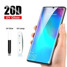 20D UV Glass for Huawei P30 Pro Screen Protector LOCA glue Technology tempered glass film for Mate 20 Pro P20 Lite ajay vohra deepak vohra pro xml development with java technology