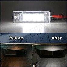 12V 오류 없음 자동차 인테리어 led화물 보관소 라이트 램프 좌석 Altea 코르도바 이비자 레온 Leon4 톨레도 LED 트렁크 라이트
