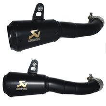 Motorcycle Parts Slip On akrapovic Exhaust For Yamaha YZF-R3 YZF-R25 MT-03 MT03 2015 2016 2017 2018 YZF R3 R25